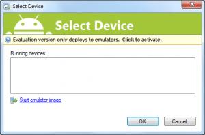 Android_CSharp_Deploy_and_Debug_no_emulator_started